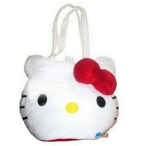 Hello Kitty Oversize Plush Tote Bag Handbag Purse